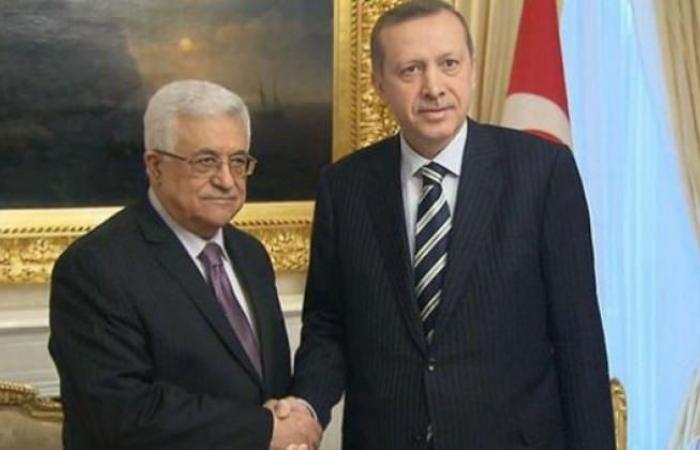 فلسطين   الرئيس يهاتف نظيره التركي ويؤكد وقوفه وشعبنا إلى جانب تركيا في وجه أمريكا