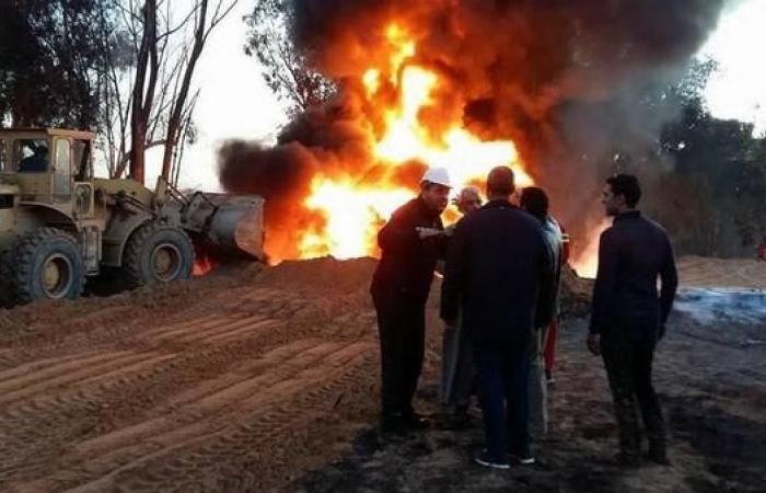 ليبيا..انفجار خط أنابيب نفط إثر عمل تخريبي