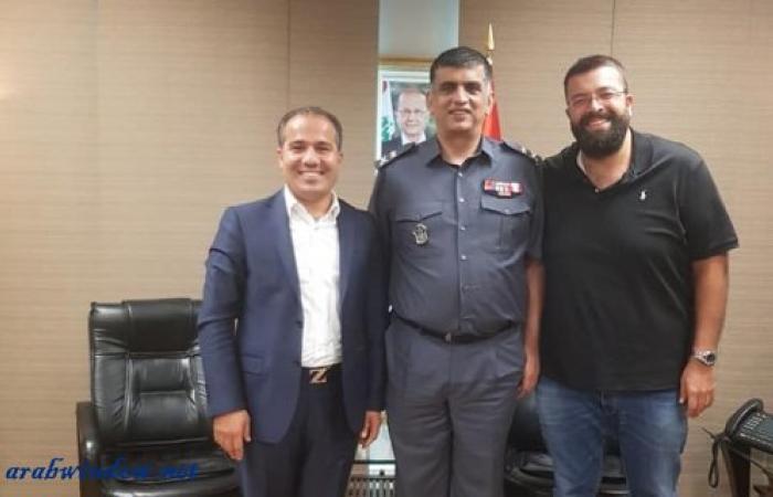 رئيس بلدية مجدل عنجر يلتقي عثمان