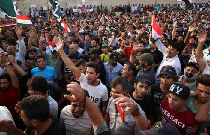 العراق   تجدد الاحتجاجات في بغداد ومدن الوسط والجنوب العراقي