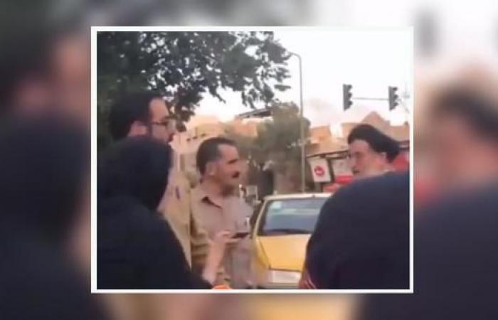 """إيران   شاهد إيرانية تنتفض بوجه معمم: """"أنا حرة بما أرتدي"""""""