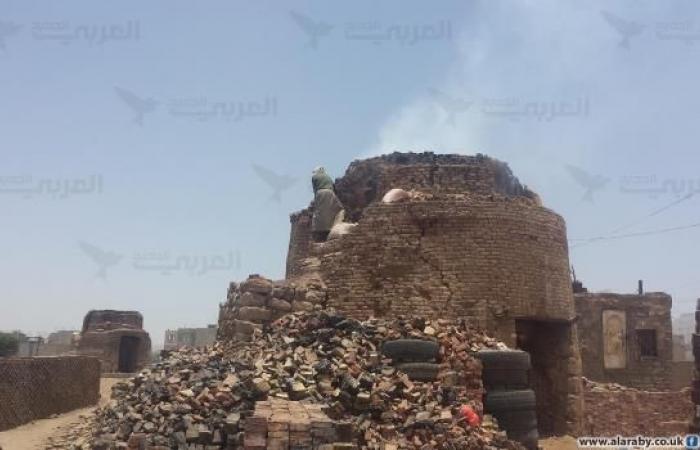 اليمن   كسارات ومحارق الطوب تلوّث صنعاء