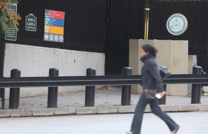 إطلاق نار على السفارة الأميركية في أنقرة