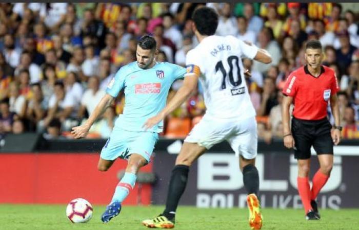 التعادل يحكم موقعة فالنسيا وأتلتيكو مدريد