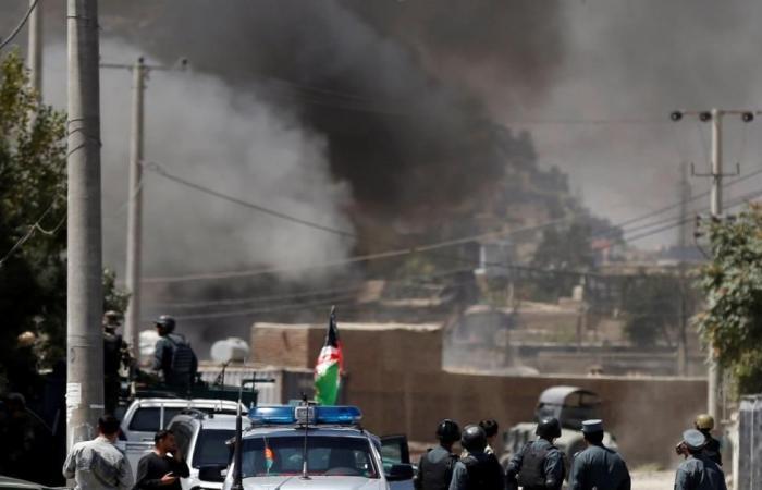 صواريخ طالبان تستهدف مقرات الرئيس الأفغاني والناتو والسفارة الأميركية