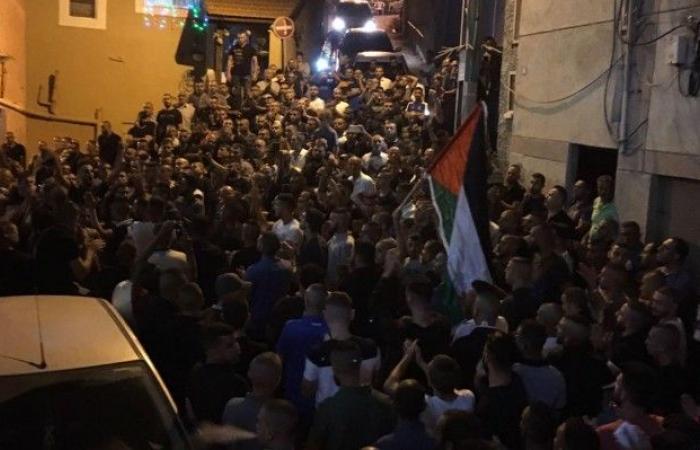 فلسطين | أم الفحم: جنازة حاشدة للشهيد أحمد محاميد