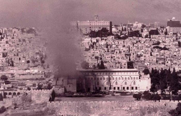 فلسطين   فيديو : 49 عامًا على حريق الأقصى.. شهادات على الإجرام
