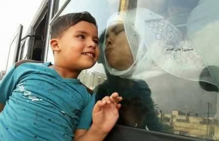 فلسطين | وصول حجاج المكرمة الي قطاع غزة
