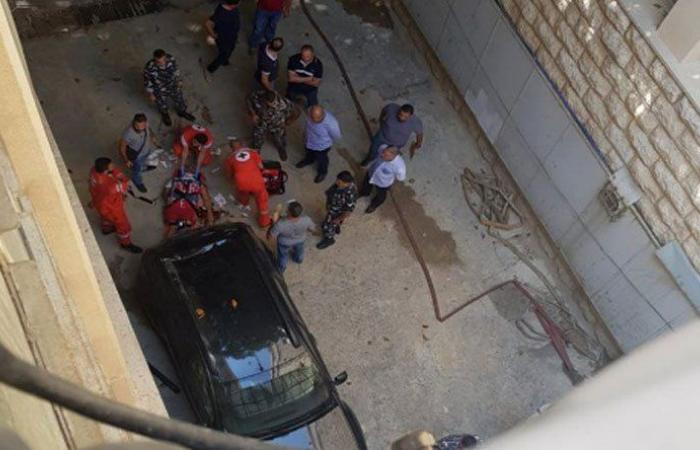 بالصور: رمى بنفسه من الطابق الثاني في قصر العدل