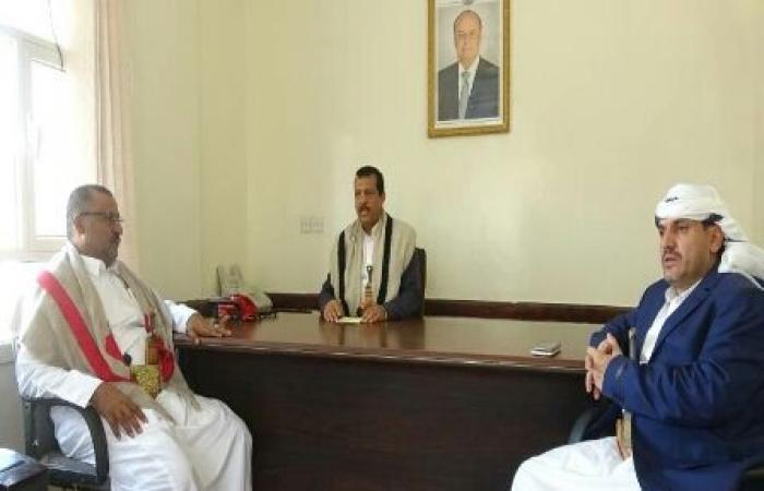 اليمن   وكيلا محافظة مأرب مفتاح والمعوضي..يشددا على ضرورة الالتزام بالدوام وتقديم الخدمات للمواطنين