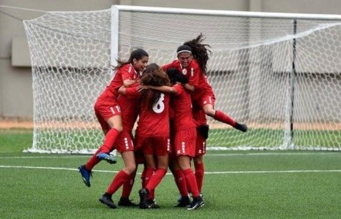 لبنان يفوز على فلسطين في إفتتاح بطولة غرب آسيا للشابات