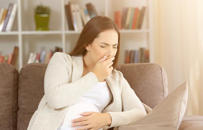 كيف يكون غثيان الحمل؟