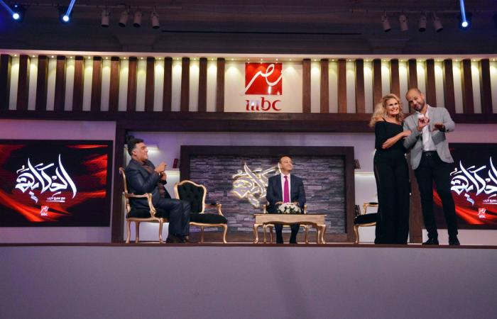"""هؤلاء النجوم يشاركون عمرو أديب """"الحكاية"""" على MBC مصر"""