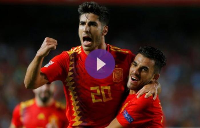 إسبانيا تمزق شباك كرواتيا وصيفة بطل المونديال بستة أهداف