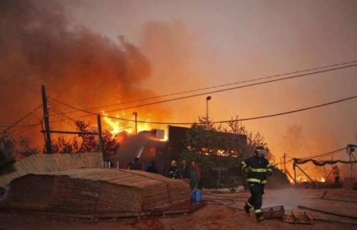 فلسطين   32 ألف دونم في مستوطنات غلاف غزة التهمتها الحرائق