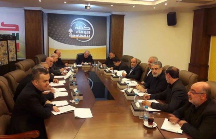"""""""الوفاء للمقاومة"""": نذكر وزارة الطاقة وكهرباء لبنان بأن التقنين غير المتوازن يهدد بانفجار الأوضاع الشعبية"""