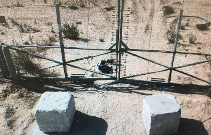 فلسطين   صور: الجيش الإسرائيلي يعلن إحباط تفجير عبوة ناسفة على حدود غزة