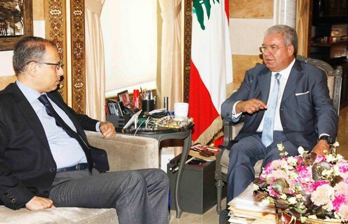 علّاوي زار المشنوق: بحث التطوّرات في لبنان والعراق