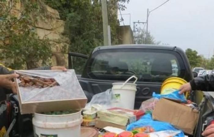 فلسطين | رام الله: الصحة تتلف 30 طناً من مخلّلات فاسدة