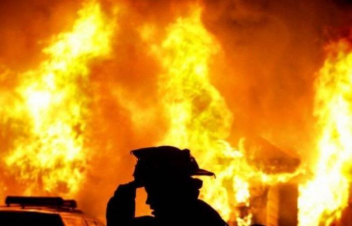 اندلاع حريق في القليعة والدفاع المدني يعمل على اخماده
