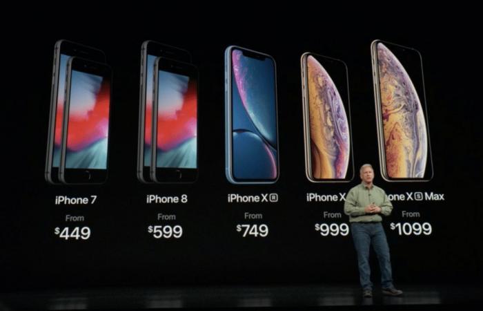 آبل تكشف رسميًا عن هواتف iPhoneXs و iPhoneXsMax