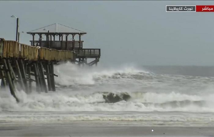 إعصار فلورانس يضرب سواحل أميركا وينشر الخوف