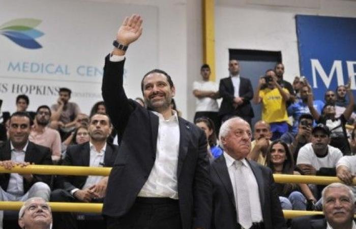 الرئيس الحريري يغرد مهنئا بفوز المنتخب اللبناني لكرة السلة على منتخب الصين