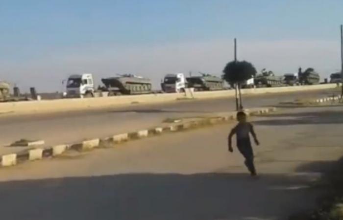 """سوريا   إعلام النظام : """" بشكل مفاجئ .. الجيش السوري يرسل تعزيزات جبارة إلى ريف حلب الشمالي """" ( فيديو )"""