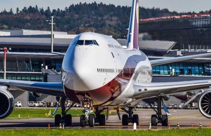 بالصور.. شاهد طائرة فاخرة أهداها أمير قطر لأردوغان من الداخل