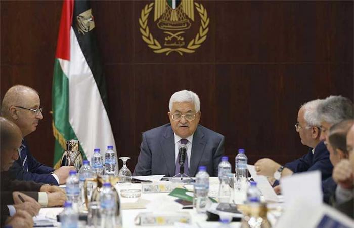 فلسطين | القيادة الفلسطينية تجتمع غداً لبحث اجراءات الاحتلال واميركا ضد القضية الفلسطينية