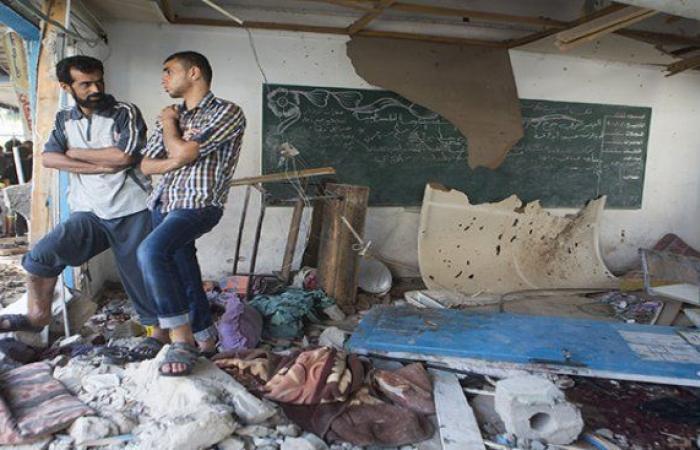 فلسطين   مدفعية الاحتلال تستهدف مدرسة للأونروا في عبسان جنوب قطاع غزة