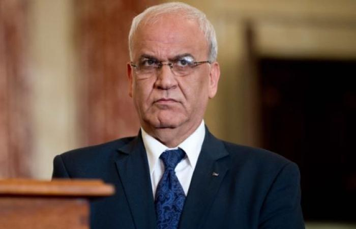 فلسطين | عريقات: الرئيس عباس قد يقرر تعليق الاعتراف بإسرائيل