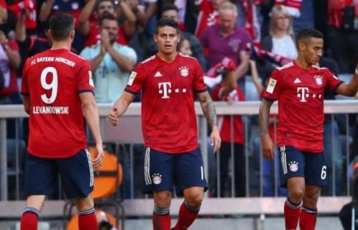 بايرن ميونيخ يواصل سلسلة إنتصاراته في الدوري الألماني