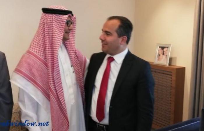 مجدل عنجر تهنئ البخاري بعد تعيينه سفير المملكة في لبنان