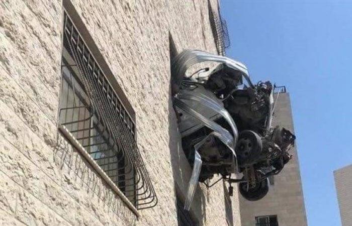 فلسطين   اصابتان في حادث خيالي مرعب بنابلس