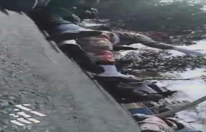 إيران   فيديو للحظة الأولى لإطلاق النار على الجنود في الأهواز