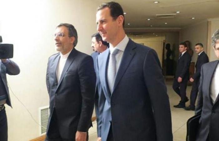 سوريا | بشار الأسد لرئيس إيران : نقف معكم بكل ما نملك من قوة في وجه الإرهاب