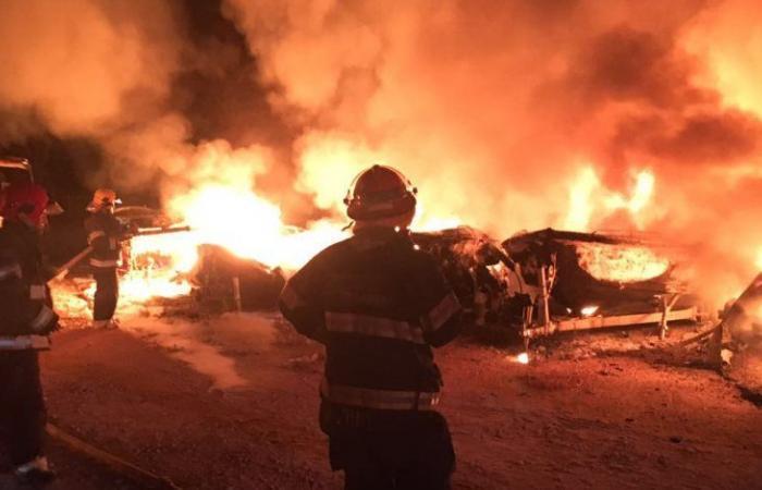 فلسطين   الاحتلال يحرق مزرعة في سبسطية وعبوة ناسفة صوب مستوطنة بيت ايل برام الله