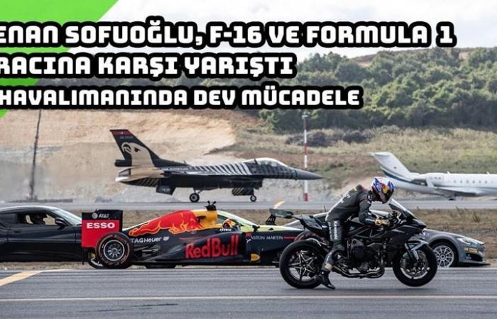 سباق مثير بين طائرتين ودراجة وسيارات.. من الفائز؟ (فيديو)