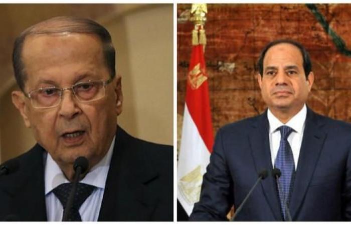 مصر | السيسي لعون: مصر ترفض أي تدخلات في شؤون الدول