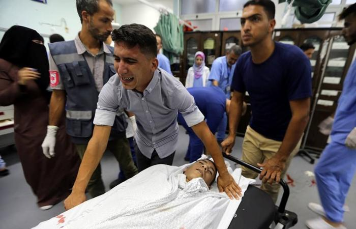 فلسطين | غزة تشيع جثمان الشهيد عماد اشتيوي