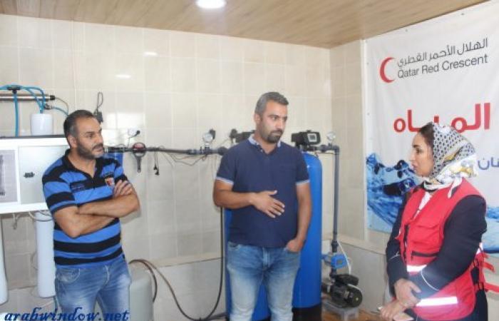 وفد الهلال الأحمر القطري يتفقّد مشاريع بعثة لبنان