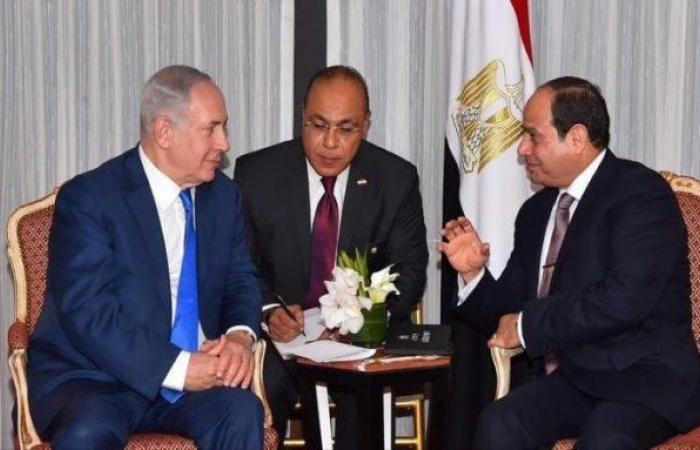فلسطين | السيسي سيلتقي نتنياهو الأربعاء المقبل