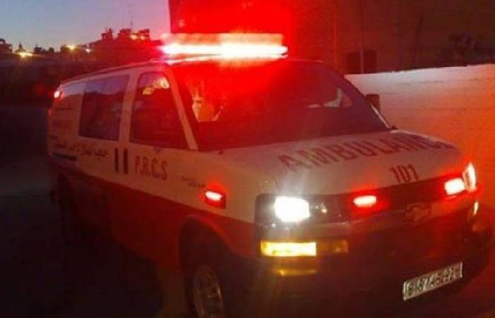فلسطين | خمس إصابات بحادث تصادم بين ثلاث مركبات جنوب جنين