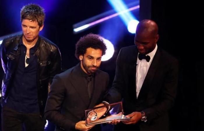 هكذا هنأ النجوم محمد صلاح بعد فوزه بجائزة أفضل هدف