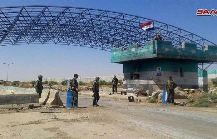 فلسطين | سوريا: انتهاء إجراءات إعادة تأهيل معبر نصيب