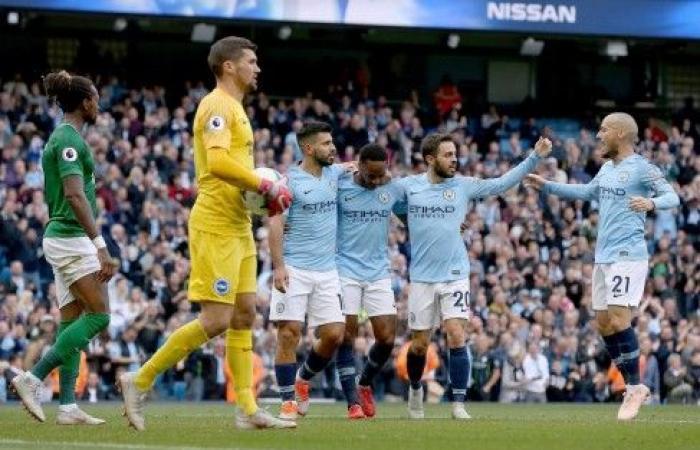 مانشستر سيتي ينفرد بالصدارة أمام ليفربول وتشلسي