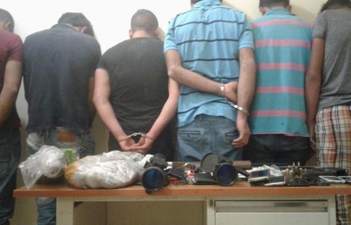 """بالصور: عصابتان سوريتان في قبضة """"المعلومات"""""""