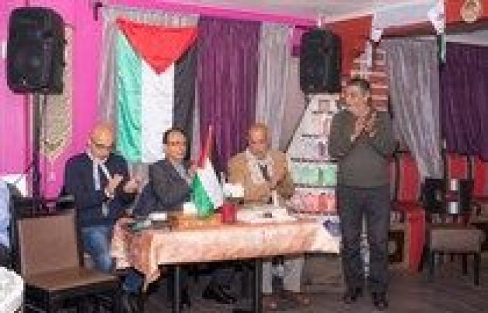 فلسطين   اختتام اعمال مؤتمر مجلس الجالية الفلسطينية في السويد