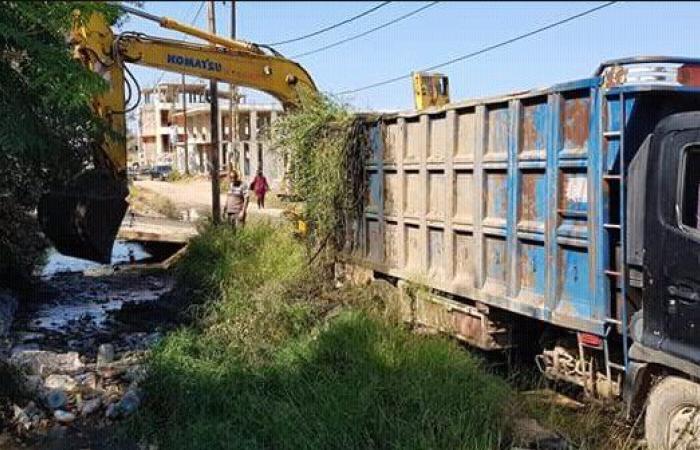 مؤسسة الإغاثة الدولية تبدأ بتنظيف قناة ري نهر البارد